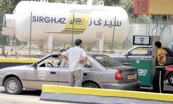 Algérie : plus d'1 million de tonnes de GPL/Sirghaz consommé en 2020