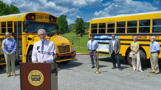 USA : Conversion de bus scolaires au GPL