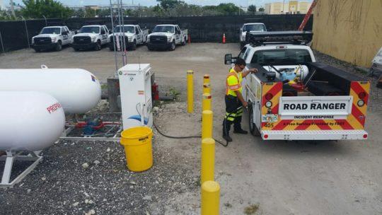 USA : La patrouille utilitaire de Floride atteint 1 million de litres de GPL ravitaillés