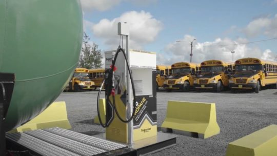 Canada: conversion de 144 autobus au GPL pour le transport scolaire