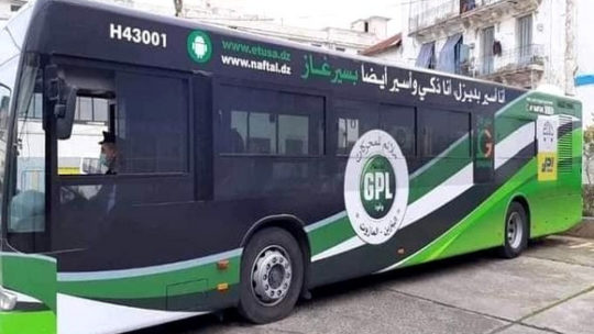 Lancement du 1er bus et du 1er camion hybrides roulant au diesel-GPLc